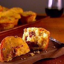 Garlic And Sun-dried Tomato Corn Muffin recipe