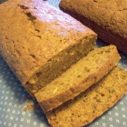 Sunflower Zucchini Bread recipe