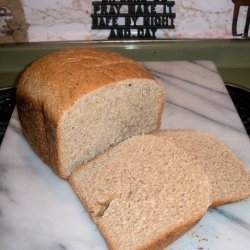 Bread Machine Honey Whole Wheat
