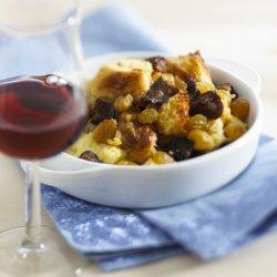 Fig And Raisin Bread Pudding