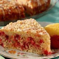 Tropical Strawberry Cheesecake Coffeecake