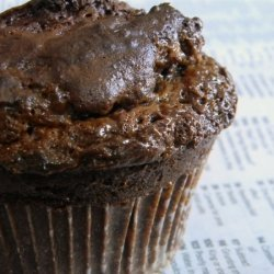 Dark Chocolate Caramel Muffins recipe
