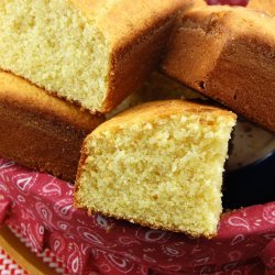 Golden Cornbread With Cinnamon Honey Butter recipe