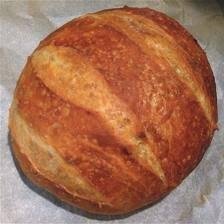 No Need To Knead Artisan Crusty Bread recipe