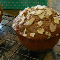 Caramel Apple Almond Muffins
