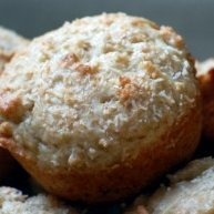 Healthy Shmealthy Lime Ina Coconut Muffins recipe