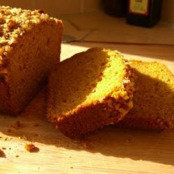 Southern Ginger Pumpkin Bread W Pecan Glaze recipe