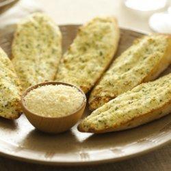 Garlic Bread With Garlic & Herb Cheese