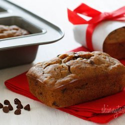 Heathy Petite Chocolate Chip Banana Bread Loaves