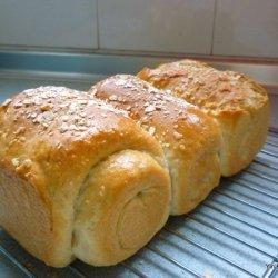 Instant Oat Soya Milk Bread recipe