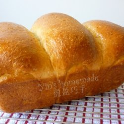 Hand Knead Wholemeal Toast Bread recipe