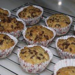 Chocolate Rice Orange Muffins