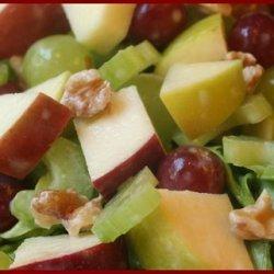 Wonderful And Yummy Waldorf Salad With A Twist recipe