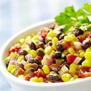 Bean Corn Avocado Salad