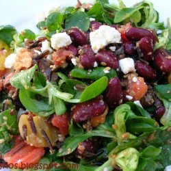 Warm Red Beans And Wild Rice Salad recipe