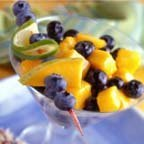 Healthy N Delicious Blueberry-mango Colada Salad