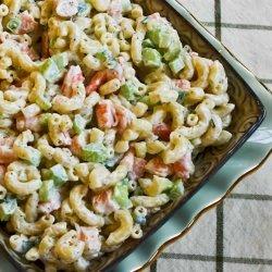 Macaroni And Shrimp Salad