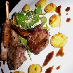 Grilled Rosemary New Zealand Lamb With Fingerling ... recipe