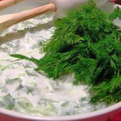 Dill Salads With Yogurt recipe