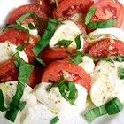 Caprese Tomato  Mozzerella Salad recipe