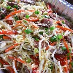 Asian Grilled Beef Salad With Sesame Ginger And Ho...