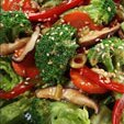 Broccoli Salad With Bacon And Red Pepper