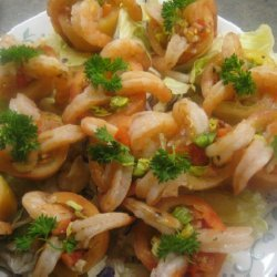 Elaines Shrimp And Salad Stuffed Tomatoes