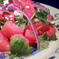 Watermelon  Feta Cheese Salad