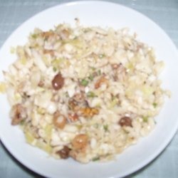Cypriot Cabbage Salad With Nuts And Raisins recipe