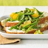 Energizing Edamame Bread Salad