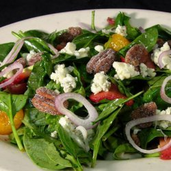 Spinach salads