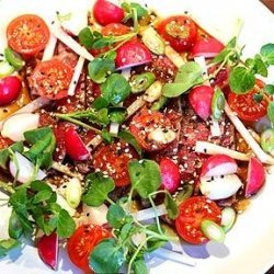 Japanese Rare Roast Beef Salad With Mixed Radishes