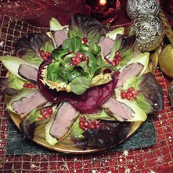 Desperate Duck On Salad At Christmas