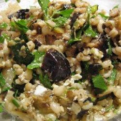 Barley Salad W Grilled Vegetables And Feta