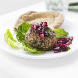 Turkey Burgers With Beetroot Salad recipe