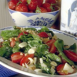 Spinach Strawberry And Hearts Of Palm Salad recipe