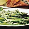 Asparagus Green Onion Cucumber And Herb Salad