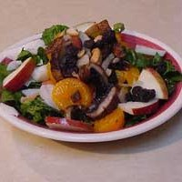 Spinach Seafood Salad