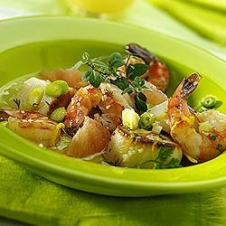 Ruby Martini Seafood Salad