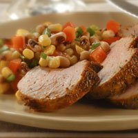 Roasted Pork And Black-eyed Pea Salad