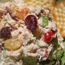 Cranberry Current Chicken Salad