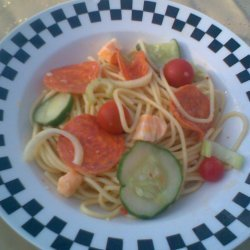 Easy Pepperoni Pasta Salad