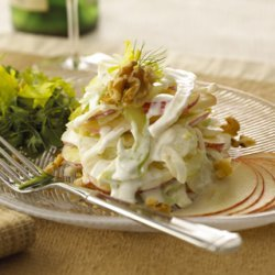 Chavrie Goat Cheese Fennel Apple Salad recipe