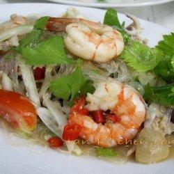 Thai Vermicelli Salad-yum Wun Sen
