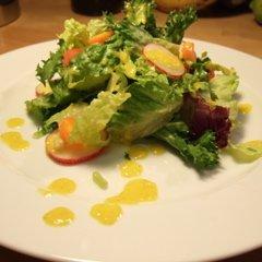 Roasted Orange Pepper Salad Dressing