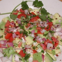 Quick And Easy Avocado Salad