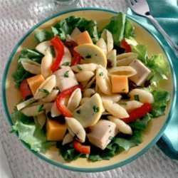 Pasta Black Bean Amp Chicken Salad recipe