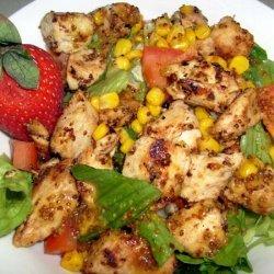 Sweet Mustard Chicken Dinner Salad
