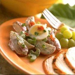 Sour Cream Dill Potato Salad
