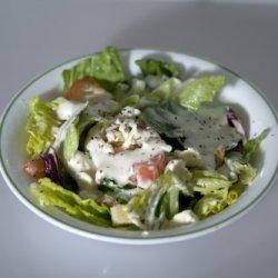 Feta Cheese Lettuce Salad